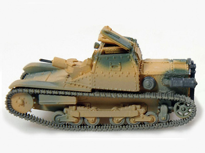 CV 35 7,5 MG 8mm 07/12, 1:72, Wespe Models