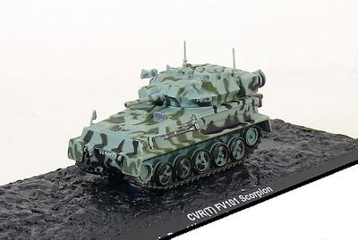 CVR (T) FV101 Scorpion The Queen's Royal Hussars Bad Fallingbostel, Germany 1993, 1:72, Altaya