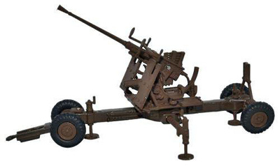 Cañón Bofors de 40 mm., 1:76, Oxford