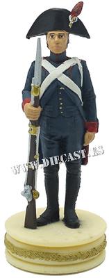 Cañonero de Artillería a pie, Ejército Francés, 1:24, Altaya
