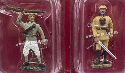 Caballería Árabe, Gran Bretaña, 1917 + Capitán de Artillería, Turquía, 1917, 1:32, Hachette