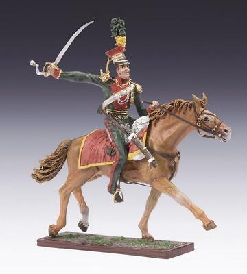 Caballería Austríaca, 2º Regimiento Ulano, 1:24, Schuco