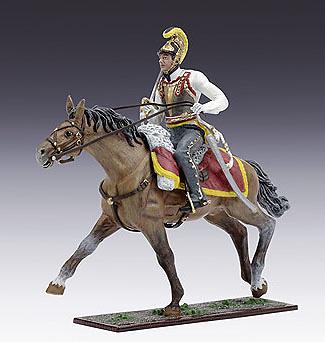 Caballería Austríaca, 3º Regimiento de Coraceros, 1:24, Schuco