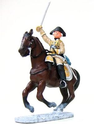 Caballería pesada, soldado Prusiano en Leuthen, 1:30, Del Prado