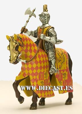 Caballero Castellano, Siglo XIII, 1:32, Altaya