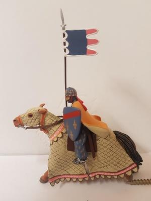 Caballero Cristiano S. XII, Tercera Cruzada, 1:32, Altaya