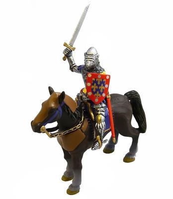Caballero Francés con espada, Siglo XII