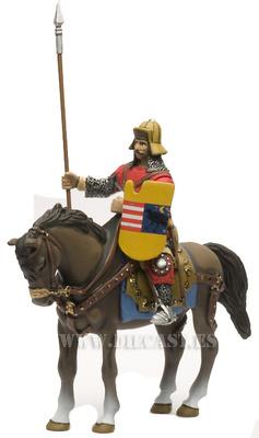 Caballero Húngaro, Siglo XIII, 1:32, Altaya