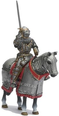 Caballero Lombardo, Siglo XIV, 1:32, Altaya