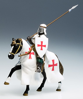 Caballero Templario S. XII, 1:32, Altaya