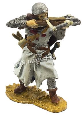 Caballero Templario con ballesta, 1:32, Hobby & Work