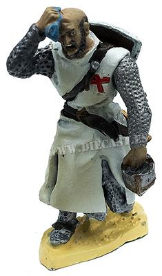 Caballero Templario marchando a través del desierto, 1:30, Hobby & Work