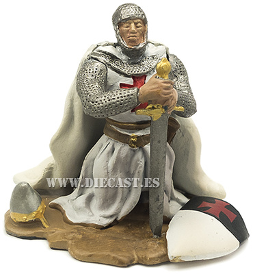 Caballero Templario orando, 1:32, Hobby & Work
