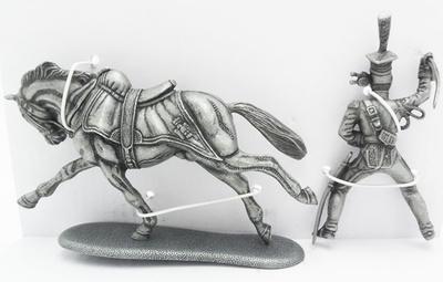 Caballero de Lancero de la Guardia Imperial, Lancero de la Guardia Imperial, 1:24, Atlas Editions