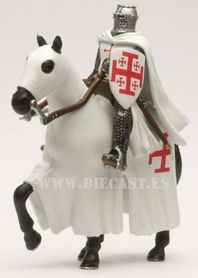 Caballero de la Orden del Santo Sepulcro S. XII, Tercera cruzada, 1:32, Altaya