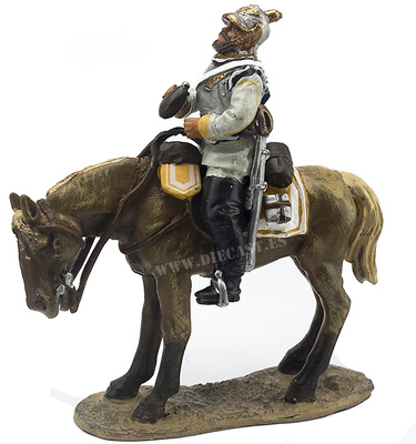 Caballero del 7º Regimiento de Coraceros, Magdeburgo, Prusia, 1870, 1:30, Del Prado