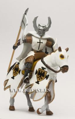 Caballero teutónico S. XIII, Sexta Cruzada, 1:32, Altaya