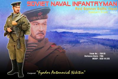Cabo Fyodor Antonovich Nikitin, Infante de la Armada Soviética, 1:6, Dragon