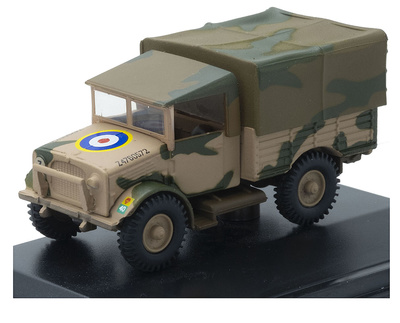 Camión Bedford MWD, 10th Armoured Div., 41 RTR, Túnez, 1943, 1:76, Oxford