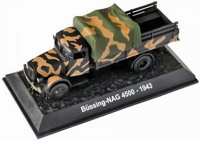 Camión Bussing-NAG 4500, Alemania, 1943, 1:72, Amercom