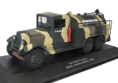 Camión Cisterna BZ-35/ZIS-6, RKKA (Ejército Rojo), Karelia, URSS, 1944, 1:43, Atlas