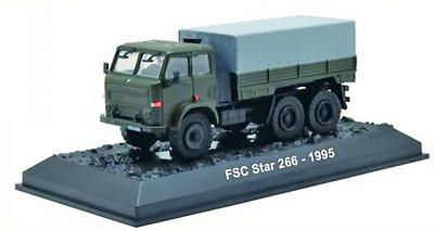 Camión FSC Star 266 6x6 Supply Lorry, Ejército Polaco, 1995, 1:72, Amercom