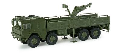 Camión MAN 464 10t 8x8 Grúa BW, 1:87, Minitanks