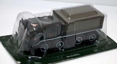 Camión MAZ 535A, Ejército Ruso, 1:72, DeAgostini