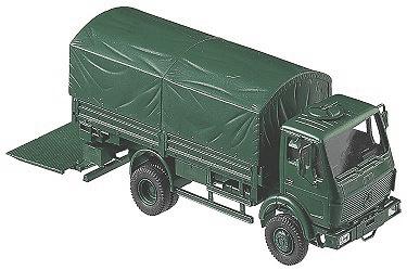 Camión MB 1017 BGS, 1:87, Roco