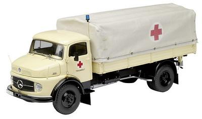 Camión Sanitario Mercedes Benz L322, 1:18, Schuco