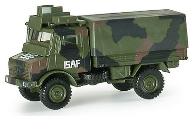 Camión Unimog MSA ISAF BW