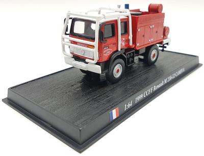 Camión de Bomberos CCFF Renault M 210-12 CAMIVA, 1999, 1:72, Atlas Editions