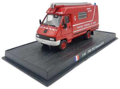 Camión de Bomberos PSE Renault B90, 1988, 1:72, Atlas Editions