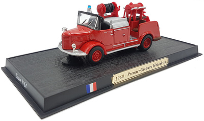 Camión de Bomberos Premier-Secours hotchkiss, 1960, 1:57, Atlas Editions