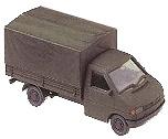 Camión transporte militar VW T4 EK P/P, 1:87, Roco