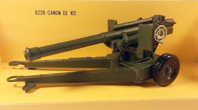 Canón de  105 mm, 1:50, Solido