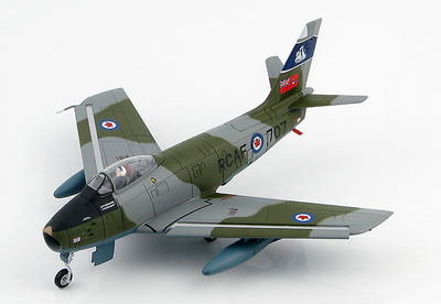"Canadair Sabre Mk.6 23707, 434 ""Bluenose"" Squadron, RCAF, 1950s, 1:72, Hobby Master"