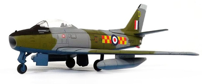 "Canadian Sabre F4 No. 92 ""East India"" Squadron RAF Linton-on-ouse, 1955, 1:100, Editions Atlas"