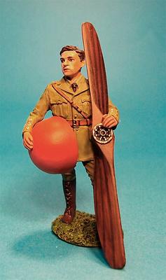 Capitán Albert Ball, Cuerpo Aéreo Real, Reino Unido, 1ª Guerra Mundial, 1:30, John Jenkins