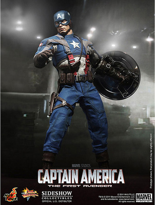 Capitán América, The First Avenger, 1:6, Hot Toys