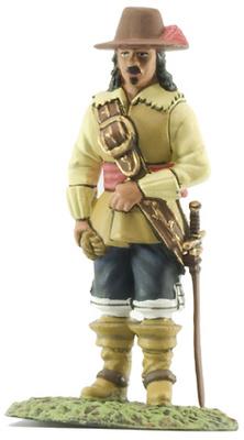 Capitán de Infantería, Tercios de Flandes, 1621, Ej. Español 1:32, Altaya