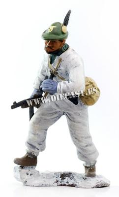 """Capitano degli Alpini Battaglione """"Monte Cervino"""", Russia 1942, 1:24, Hachette"""