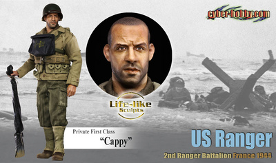 """Cappy"" (Private 1st Class), U.S. Ranger, 2nd Range, 1:6, Dragon Figures"