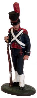 Carabinero, Infanteria de linea Belga-Holandesa, 1801, 1:30, Del Prado