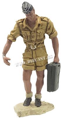 Carrista alemán del Afrika Korps, 1941, 1:30, Hobby & Work