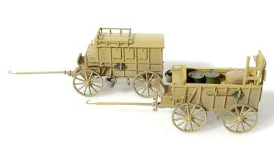 Carros de caballos, 1:72, Wespe Models