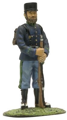 Cazador de Infantería, 1902, Ej. Español, Altaya