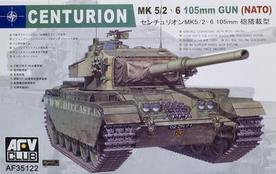 Centurion MK 5/2, 6, 105 Gun, NATO, 1:35, AFV Club