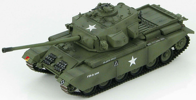 Centurion Mk.III A Squadron, 8th King's Royal Irish Hussars, Korea, 1951, 1:72, Hobby Master
