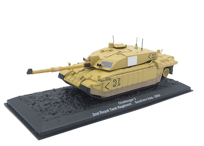 Challenger 2, 2nd Royal Tank Regiment, Sur de Irak, 2003, 1:72, Altaya